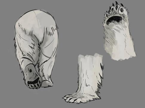 PolarBear Paw