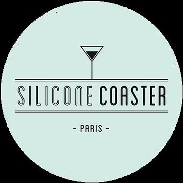 silicone coasters custom made sous verre personnalisés  royalriver.fr
