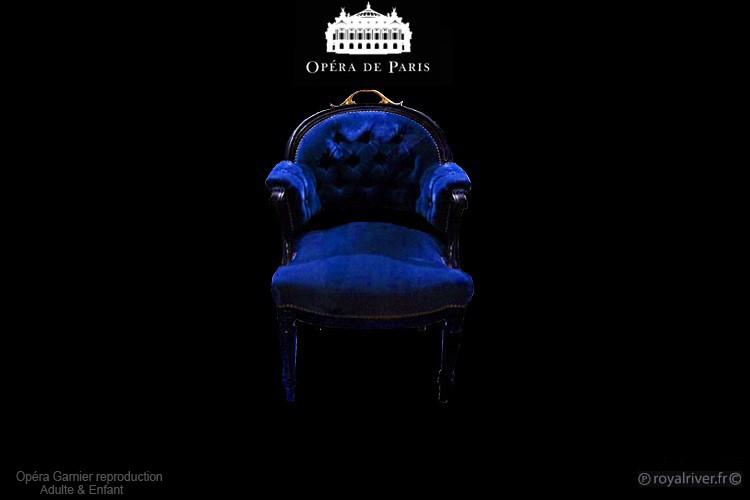 fauteil opéra de paris bleu Royal River