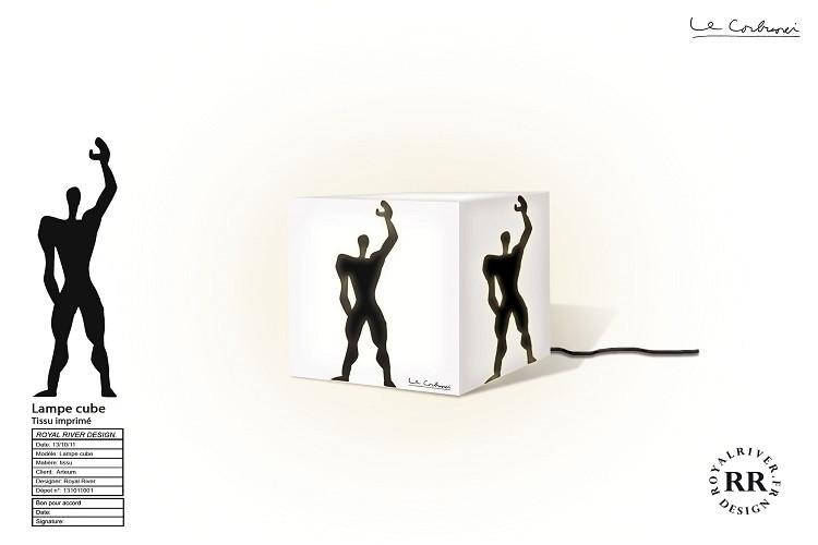 lampe le corbusier Royal River design gr