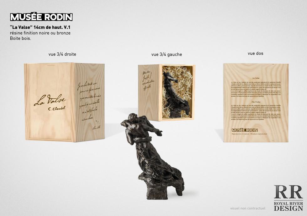 la valse Claudel musée rodin sculpture R