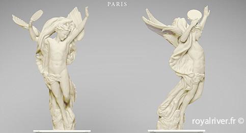 opéra génie de la danse sculpture Royal