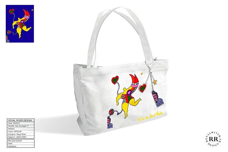 Niki de st-Phalle sac Royal River design