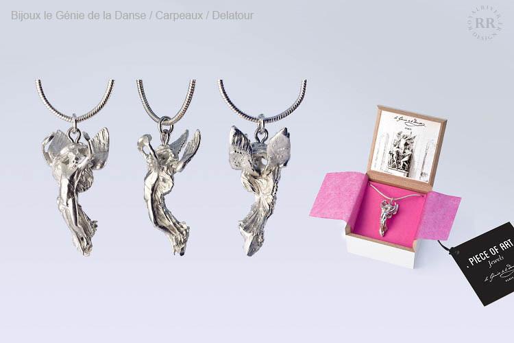 Bijoux pendentif le genie de la danse Ro