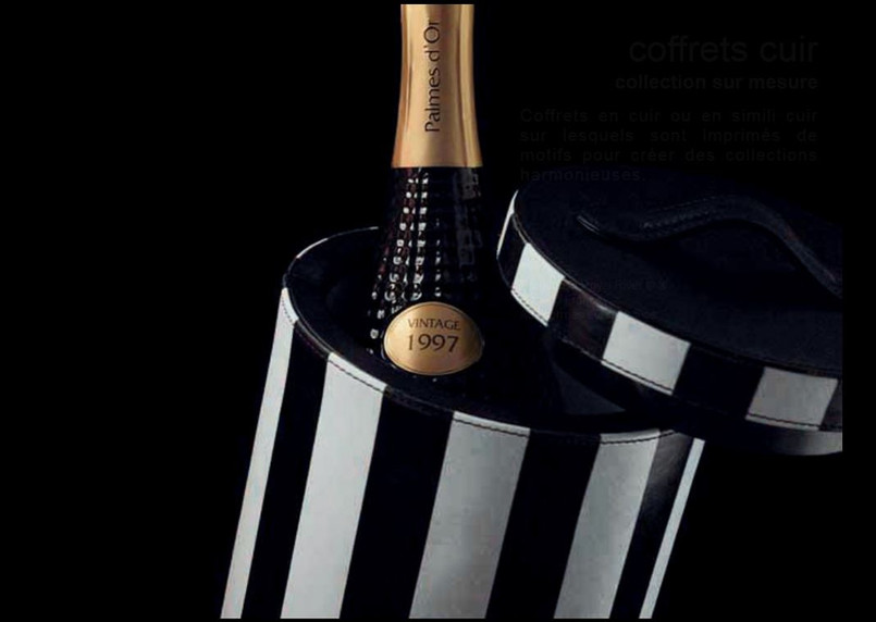 pack champagne en cuir  Royal River desi