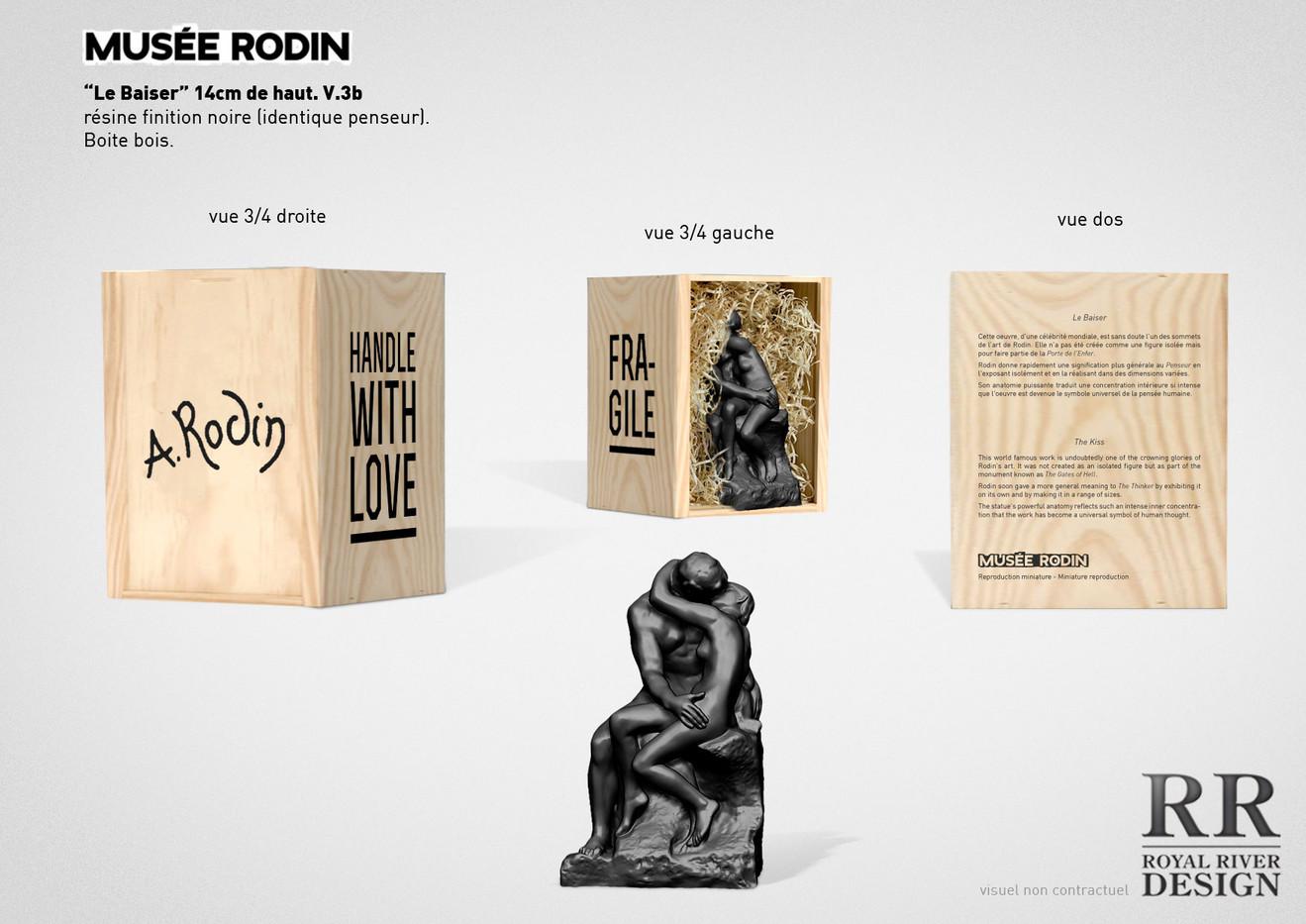 le baiser musée rodin sculpture  Royal R