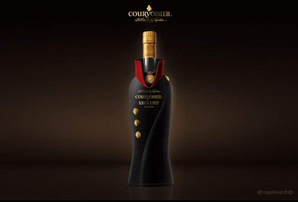 Alcool bouteille packaging courvoisier R