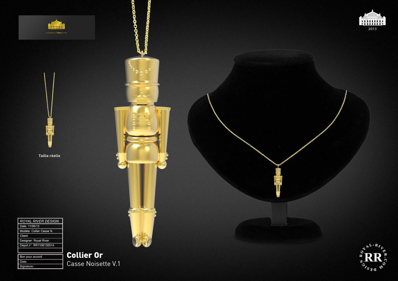 collier opéra de paris bijoux Royal Rive