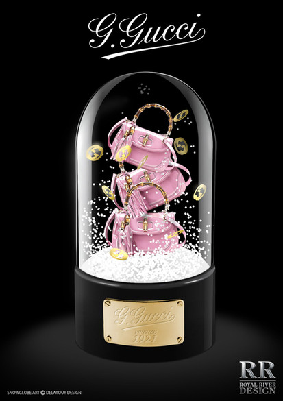 Gucci boule a neige  Royal River design