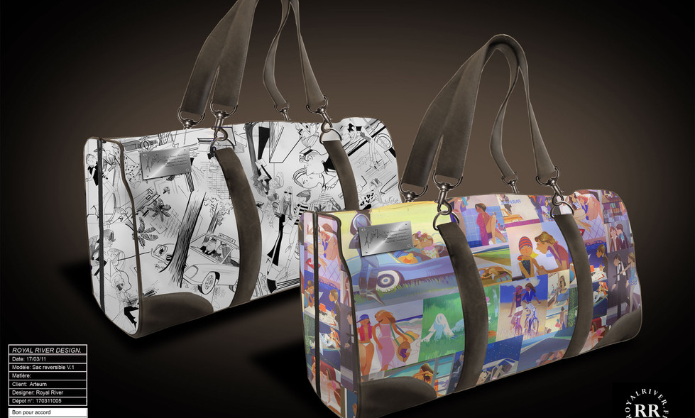 sac de voyage Kiraz Royal River design g