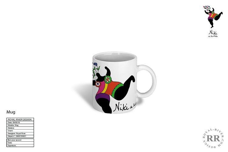 tasse mug Niki de st-Phalle Royal River