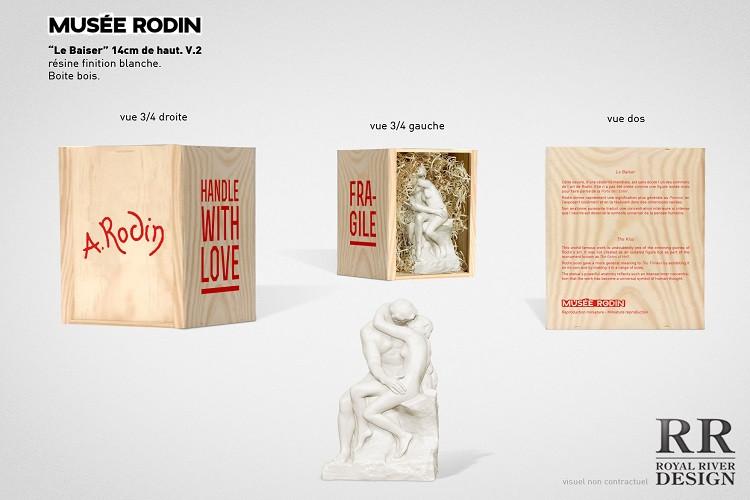 musée rodin le baiser sculptures Royal R