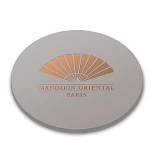 Silicone coasters - Le mandarin oriental, Paris