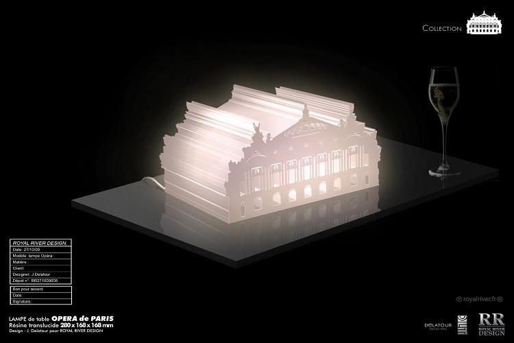lampe opéra de paris Royal River design