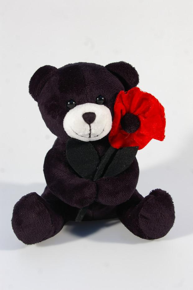 peluche SR noir fleur  Royal River desig