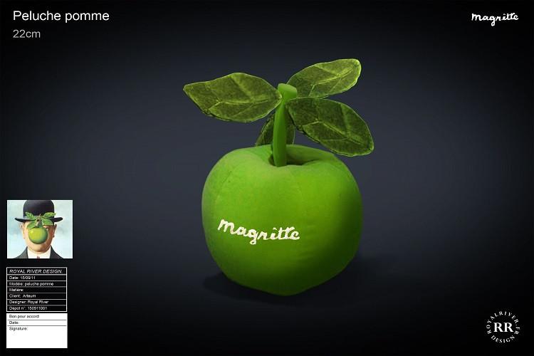 peluche Magritte pomme  Royal River desi