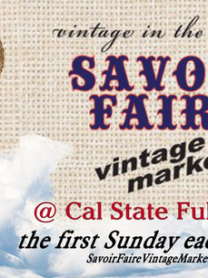 Vintage is in the Air at Savoir Faire!