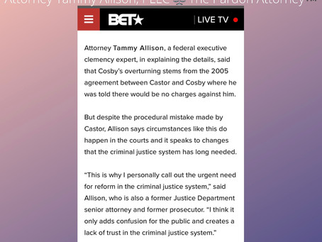 COSBY FREED: The Legal Explanation