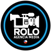 Logo Rolo AGENCIA MEDIA, negro 2 CAMARA.