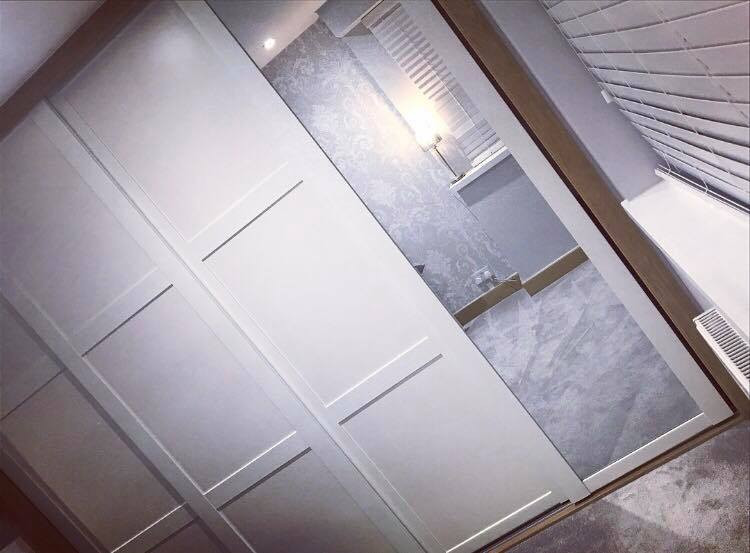 Sliding doors - fitted wardrobes