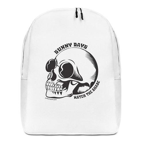 SKULL SHADE Minimalist Backpack