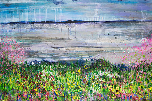 """Spring on the Firth of Tay"" Art Print"