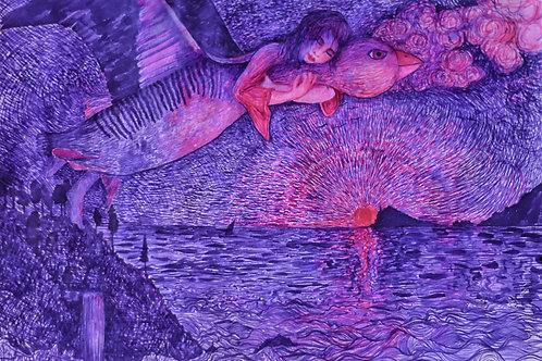 """""""Sleep"""" Art Print"""