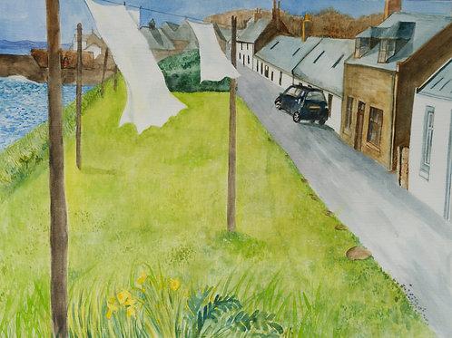 """Johnshaven Spring"" Art Print"