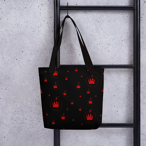 """Apple and Wolf Claw"" Icon Bag"