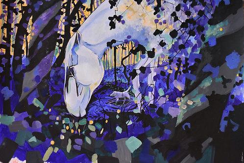 """Camino Blues"" Giclee Art Print"