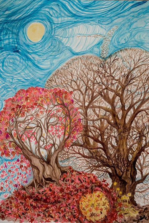 """Dryad"" Art Print"