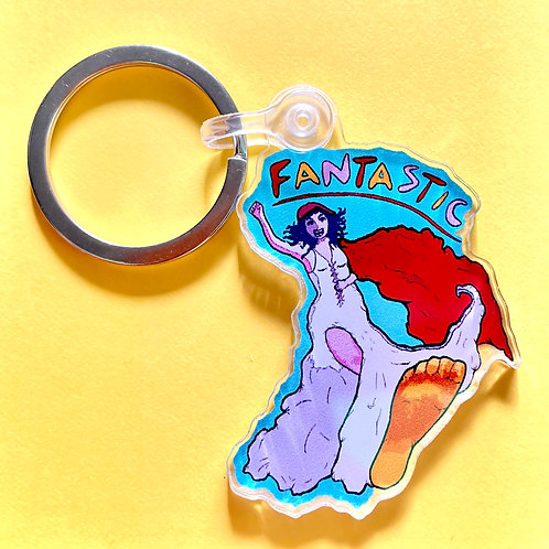 """Key to being """"Fantastic"""" [Keychain]"""