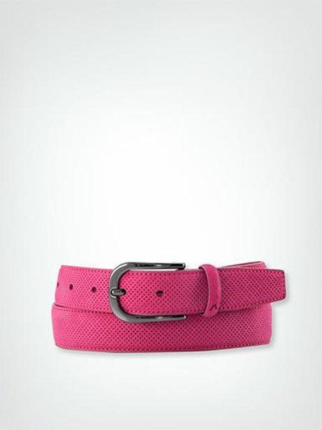 Alberto Golf Damen Gürtel Leather - pink