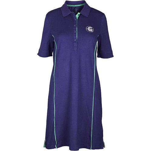 girls golf Polo-Kleid 'GIANT G' (navy)