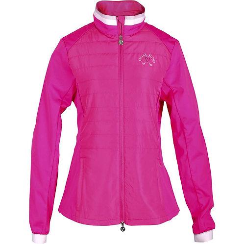girls golf Jacke 'LAST LAYER' (pink)