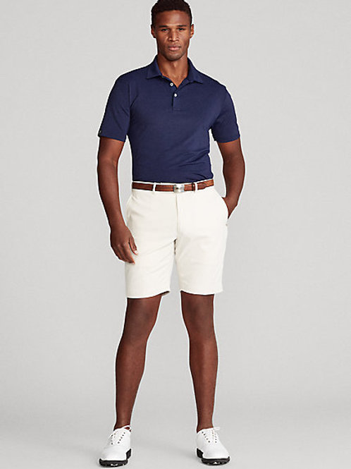Tailored-Fit Twill-Golfshorts