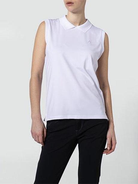 Golfshirt Lina mit Dry Comfort-Ausrüstung -weiß