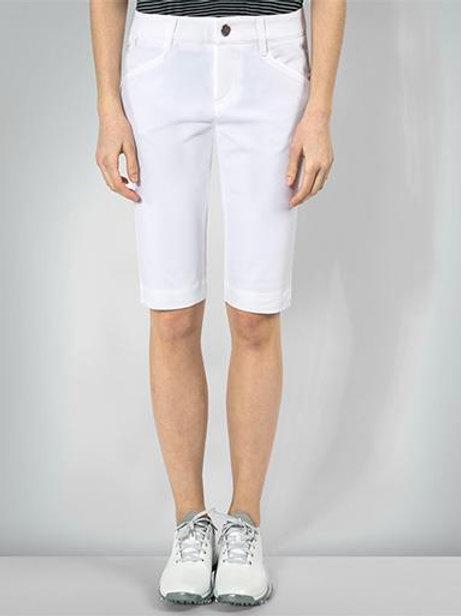 Golfbermudas Mona im Regular Fit mit 3xDRY® weiß