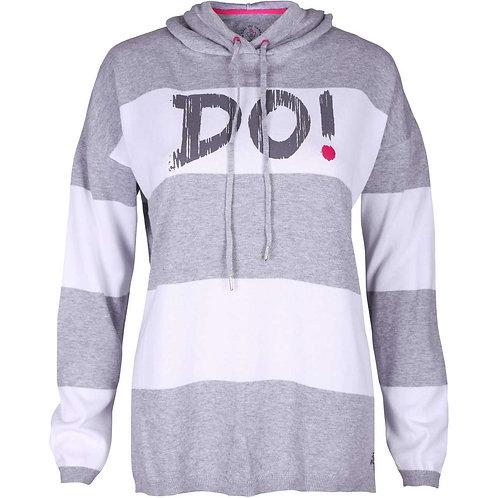 girls golf Sweater 'DO!' (grau)