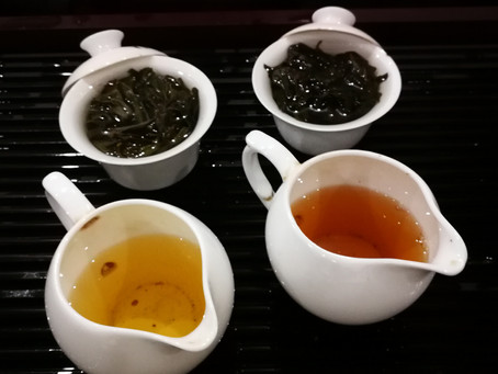 Blog 32: Two Examples of Bad Wu-Yi Oolong Roast