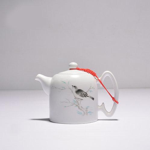 Ding Yao Tea Pot (Colored-Ink)