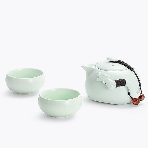 Ding-Yao 2 Cup Traveller Set - Green