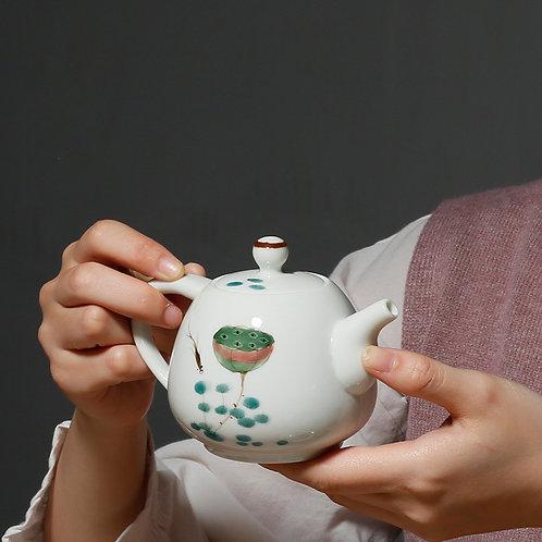 Lotus Flower Tea Pot
