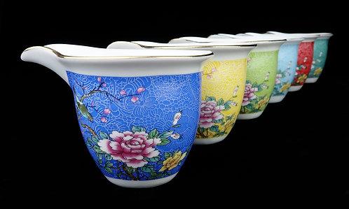 Enamel Sharing Pot (Cha Hai/Gong Dao Bei)