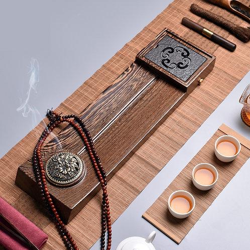 Large Wenge Wood Tea Tray