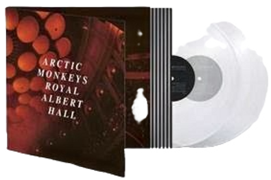 Arctic Monkeys - Live At The Royal Albert Hall (Deluxe Clear Vinyl)