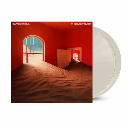 Tame Impala - The Slow Rush (Limited Edition 2 x LP Creamy White Colour Vinyl)