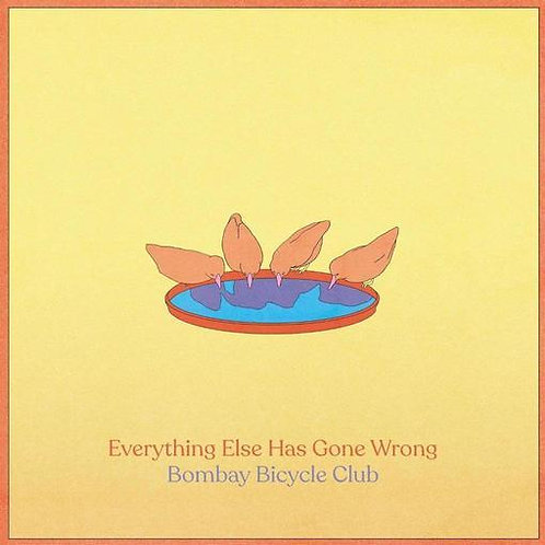 Bombay Bicycle Club - Everything Else Has Gone Wrong (includes fold out poster)
