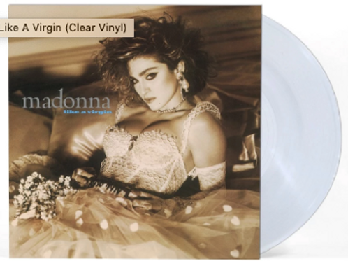 Madonna - Like A Virgin (Clear Vinyl)