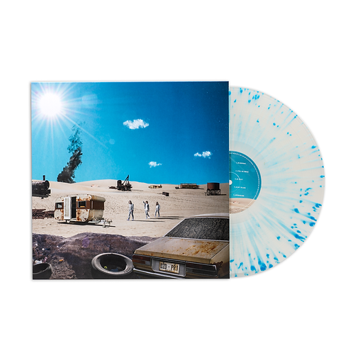 DZ DEATHRAYS - Positive Rising Vol. 1 (Ltd Edition Clear with Blue Splatter)